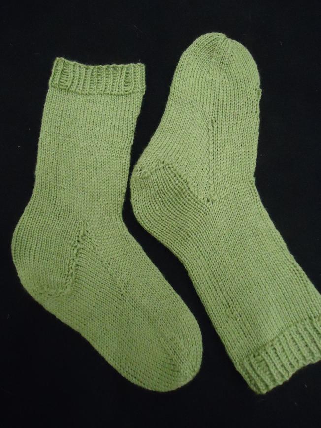 Toiselta sivulta sukat ovat sileät, kuten näkyy